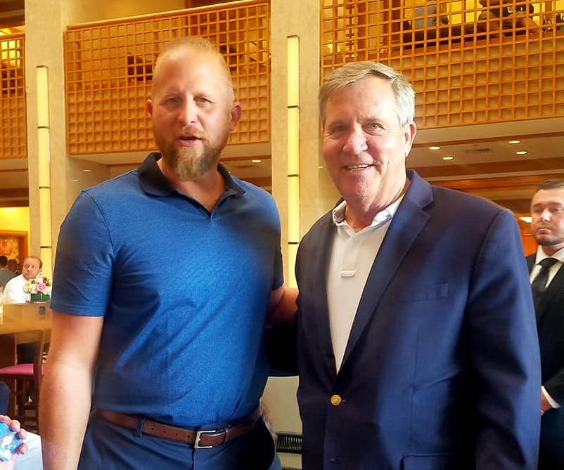 Greg Raths with Brad Parscale